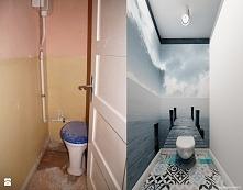 toaleta - fototapeta