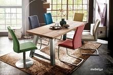 Kolorowe krzesła FALLO - sam możesz wybrać kolor, rodzaj podstawy oraz wykońc...