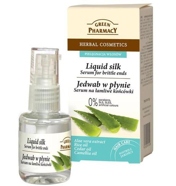 Jedwab Green Pharmacy - polecam! :) a wy jakie serum na końcówki lubicie najbardziej?