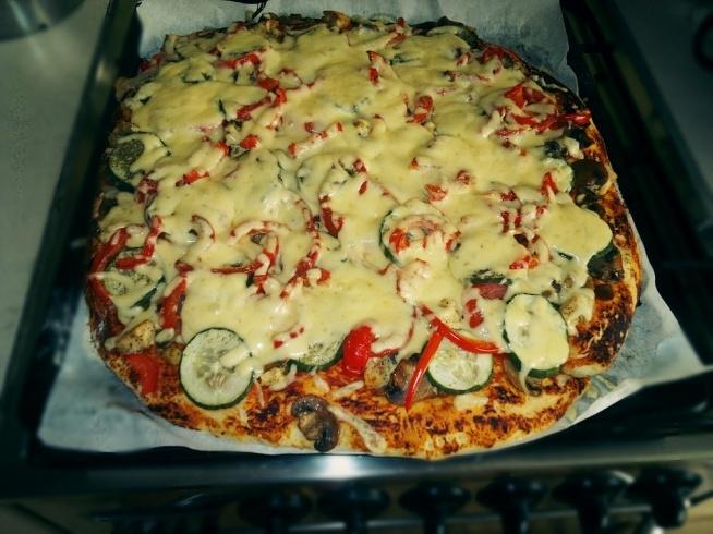 Pyszna pizza z kurczakiem ) Pomysł na obiad na kuchnia   -> Kuchnia Lidla Pomysl Na Obiad