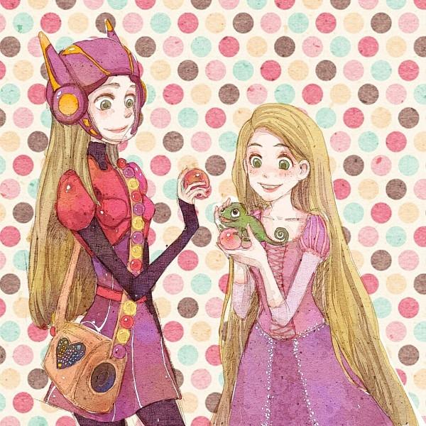 Roszpunka i Honey Lemon. Takie podobne...