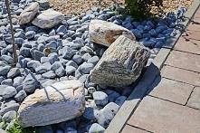 Piękne ozdobne kamienie ogrodowe w wielu kolorach :D