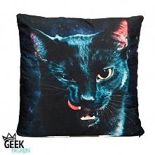 Poszewka Czarny Kot dostępna w sklepie GeekFashion.pl