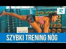 Szybki trening nóg. 3 ćwiczenia Ady Palki [RUSZ SIĘ]