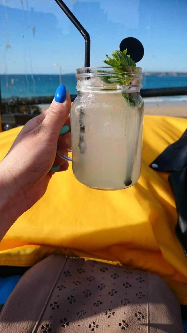 mojito in Newquay:) holiday start:)