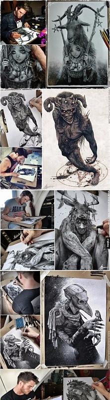 Niesamowite rysunki Christo...