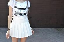 Podoba Wam się słynna tennis skirt? Do czego byście ją ubrali?  zdjęcie z blo...