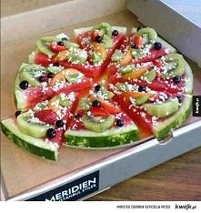 Taka letnia wersja pizzy ;)