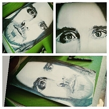 Szkic Jared Leto by @karolinakopec
