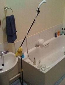 najnowszy prysznic, projekt markowy ;P