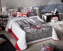 Narzuta Antilo Romantic Deco - Ekskluzywna narzuta na łóżko marki Antilo z ko...