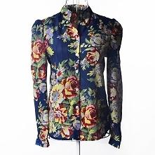 Fajna damska koszula w kwiaty. Po kliknięciu na zdjęcie więcej kolorów.