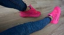 nike airmax pink 90