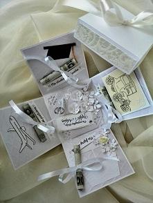 ślubny prezent- ślubny BOXik