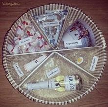 Pięknie wykonany pomysłowy prezent na ślub ;)