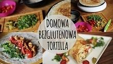 bezglutenowa tortilla
