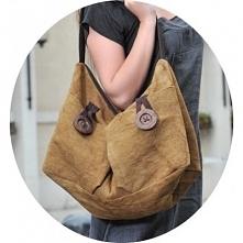 LANDA™ Torba na ramię len-skóra  Oryginalna torba na ramię według projektu Ka...