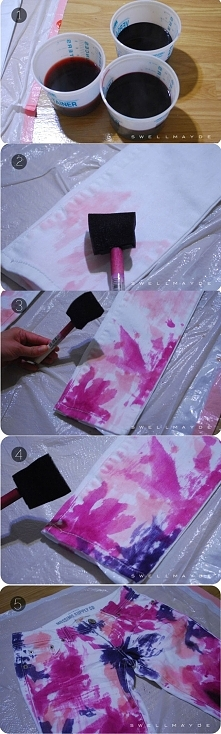 Jak ze starych spodni zrobić coś nowego... :)