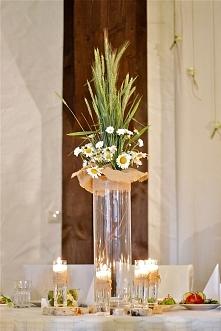 rustykalne dekoracje kwiato...