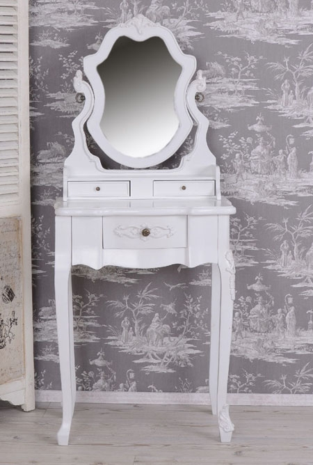 Toaletka z Ruchomym Lustrem Willa Vintage