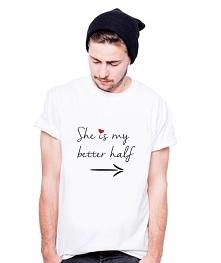 Koszulka dla Par - She is m...