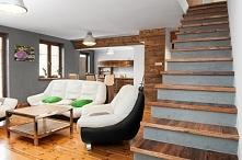 Aranżacja mieszkania, schody-stare drewno... ekskluzywnemeble.net