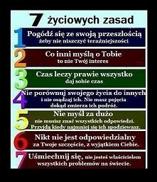 życiowe zasady...