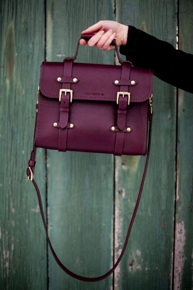 ee7e8a063bf22 bordowa torba torebka na Mój styl - Zszywka.pl