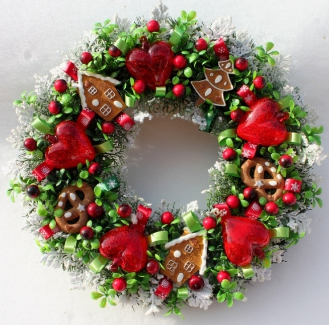 Świąteczny wieniec