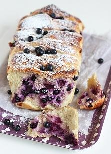 Chleb do odrywania z jagodami i twarogiem  Przepis po kliknięciu w zdjęcie! :)