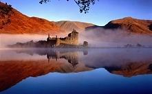 Kilchurn Castle, Szkocja. Jeden z najbardziej malowniczych szkockich zamków położony nad jeziorem Loch Awe.Średniowieczne ruiny naprawde robia wrazenie.Zamek można podziwiać z z...