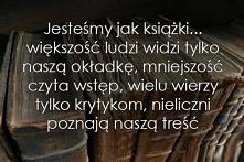 Jesteśmy jak książki...