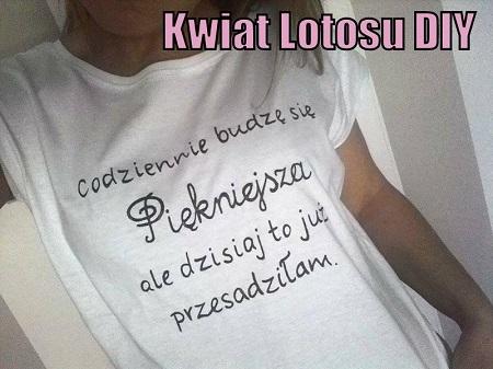 Koszulki malowane ręcznie, zapraszam na profil na FB -- >  Kwiat Lotosu DIY