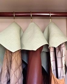 ochrona płaszczy przed kurzem