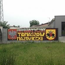 Zajefajny mural z Tomaszowa Mazowieckiego