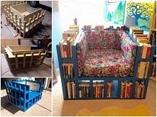 fotel biblioteczka