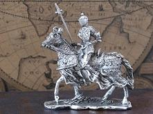 Rycerz z Lancą na Koniu Figurka Veronese