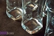 Matowienie szkła - diy. Sygnowane szklanki jako pomysł na prezent ślubny!