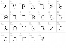 alfabet enochiański