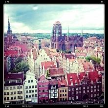 "Gdańsk - widok z ""Gdańsk eye"""