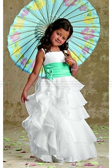 Long Organza Dress By Jorda...