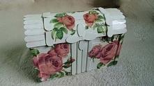 Szkatułka z różami
