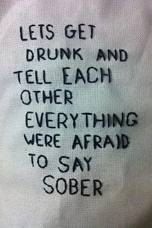 get drunk!