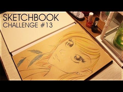 Sketchbook Challenge #13 Matt alternative version