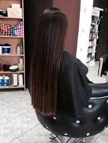 Włosy mojej siostry :)  Zdjęcie zrobione już jakiś czas temu, przez fryzjera....