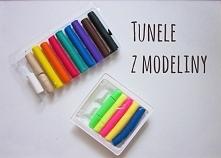 Kilka pomysłów na wykonanie tuneli z modeliny. Link do bloga w profilu :)