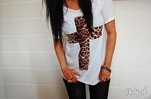"Koszulka ""leopard cros..."