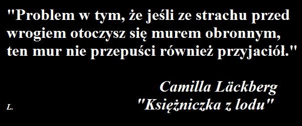 """KSIĘŻNICZKA Z LODU"" - Camilla Läckberg"