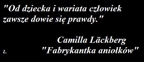 """""""FABRYKANTKA ANIOŁKÓW"""" - Camilla Läckberg"""