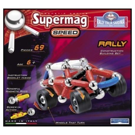 Mali konstruktorzy! Coś dla was:)  Bardzo popularny wśród chłopców włoski zestaw klocków magnetycznych Supermag Auto Rally Italia. Aż 69 elementów do skręcania dla dzieci od lat 6.  Co znajduje sięw zestawie? Sprawdźcie sami:  #klockimagnetyczne #supermag #auto #reallyitalia #zabawki #sklep #krakow